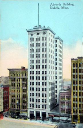 Alworth Building, Duluth, 1910's?