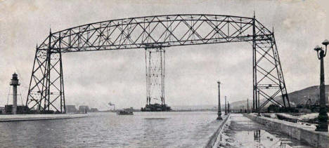 Aerial Lift Bridge, Duluth Minnesota, 1905