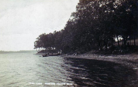 Fish Lake, Parkers Prairie Minnesota, 1911
