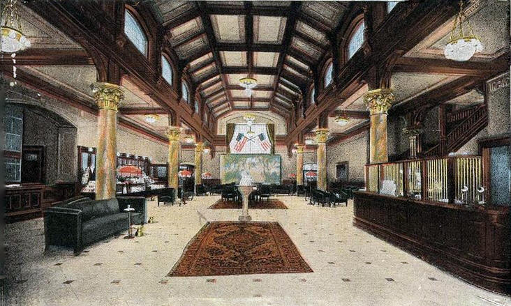 New Lobby Of The Ryan Hotel St Paul Minnesota 1920 S