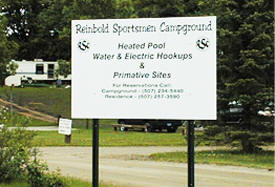 Reinbold Sportsmen Campground, Eagle Lake Minnesota