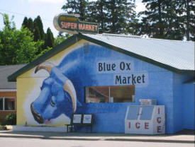 Blue Ox Market in Akeley, Minnesota