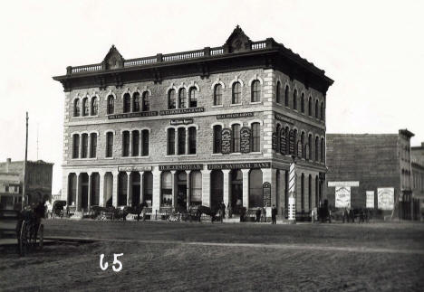 Sidles Block, Washington at Nicollet, Minneapolis Minnesota, 1873