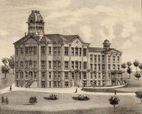 The University of Minnesota, Minneapolis Minnesota, 1874