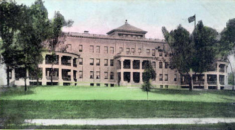 Women's Building, Soldiers Home, Minneapolis Minnesota, 1909