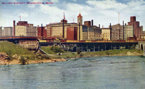Milling District, Minneapolis Minnesota, 1900's