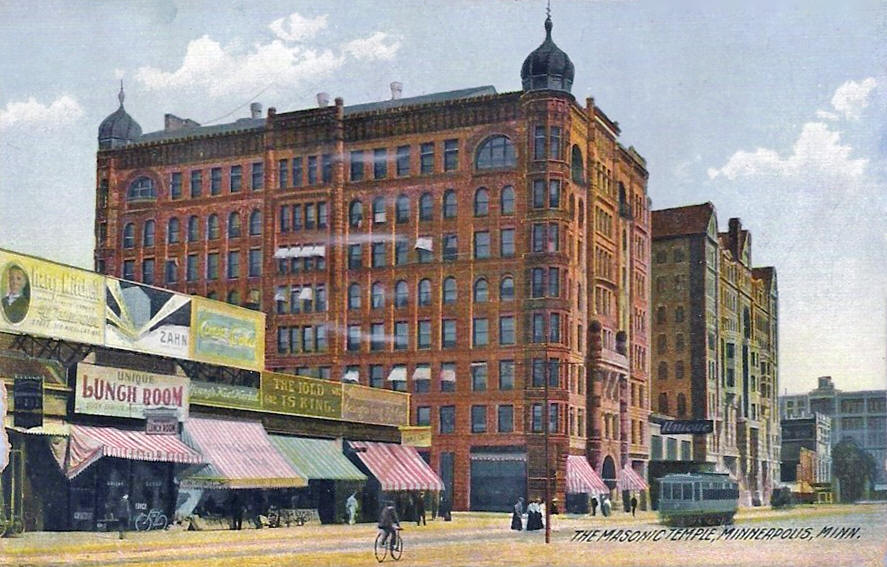 St. Peter Street, St. Paul Minnesota, 1908