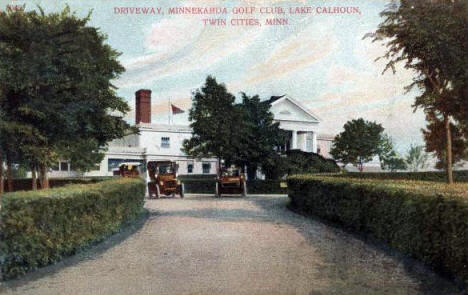 Minnekahda Golf Club, Minneapolis Minnesota, 1909
