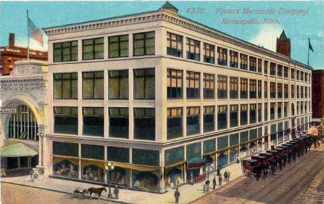 Powers Mercantile Company, Minneapolis Minnesota, 1900's
