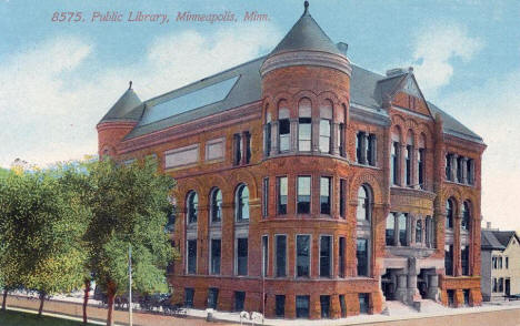 Public Library, Minneapolis Minnesota, 1918
