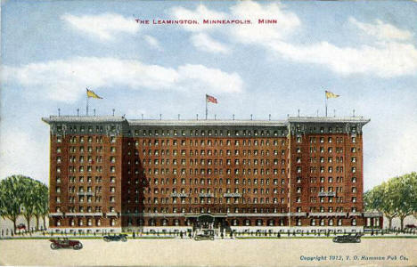The Leamington Hotel, Minneapolis Minnesota, 1912