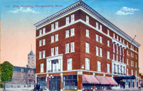 Elk Building, Minneapolis Minnesota, 1916