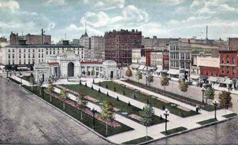 Gateway Park, Minneapolis Minnesota, 1910's
