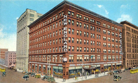 New England Furniture and Carpet Company, 5th Street and 1st Avenue North, Minneapolis Minnesota, 1920's
