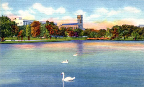 Loring Park, Minneapolis Minnesota, 1937