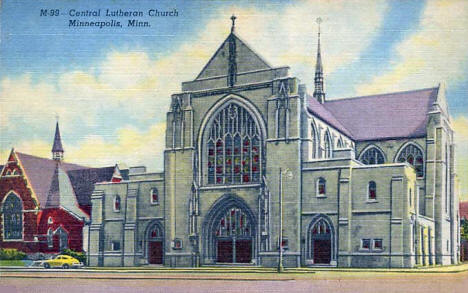 Central Lutheran Church, Minneapolis Minnesota, 1930's