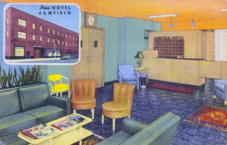 The New Hotel Canfield, Minneapolis Minnesota, 1939
