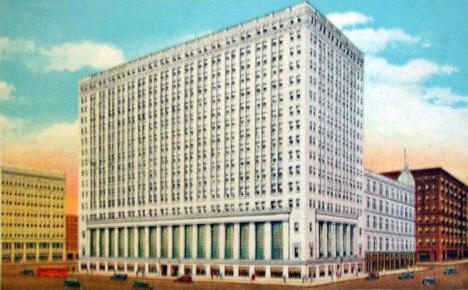 Northwestern Bank Building, Minneapolis Minnesota, 1930