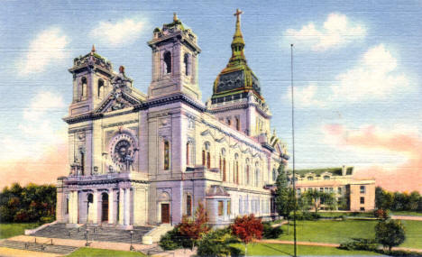 Basilica of St. Mary, Minneapolis Minnesota, 1935