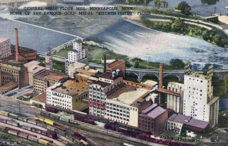 General Mills Flour Mill, Minneapolis Minnesota, 1930's