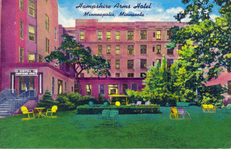 Hampshire Arms Hotel, Minneapolis Minnesota, 1940's?