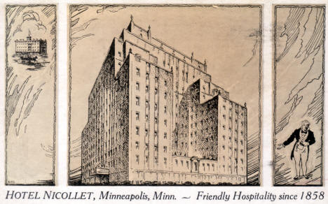 Hotel Nicollet, Minneapolis Minnesota, 1940