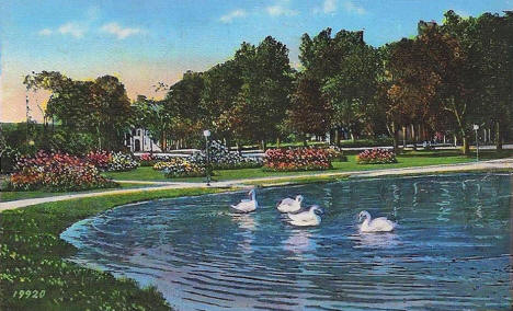 Loring Park, Minneapolis Minnesota, 1949