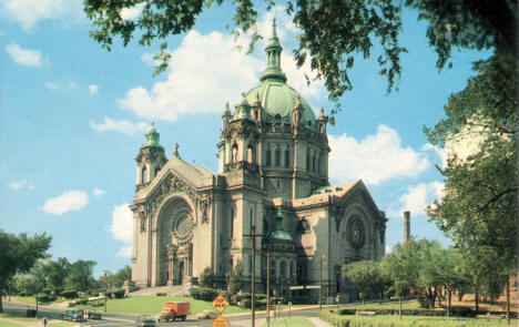 Cathedral of St. Paul, St. Paul Minnesota, 1950's