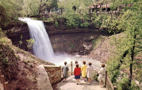 Minnehaha Falls, Minneapolis Minnesota, 1960's