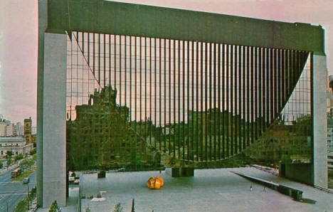 Federal Reserve Bank (now Marquette Plaza), Minneapolis Minnesota, 1970's