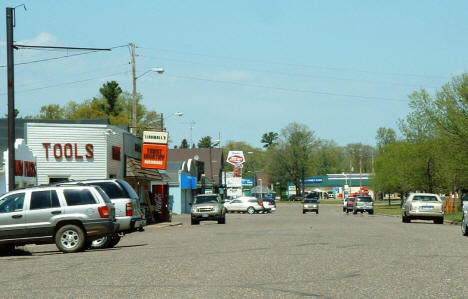 View of Downtown Garrison Minnesota, 2007