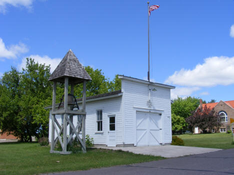 Old Grasston Fire Hall, Grasston Minnesota