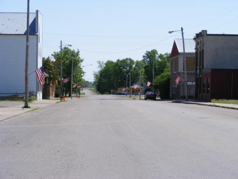 View of Downtown Ogilvie Minnesota, 2007