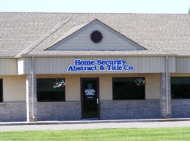 Home Security Abstract & Title Co., Milaca Minnesota