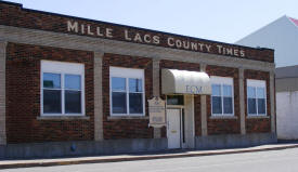 Mille Lacs County Times, Milaca Minnesota