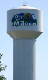 Milaca Minnesota Water Tower