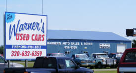 Warner's Used Cars, Little Falls Minnesota