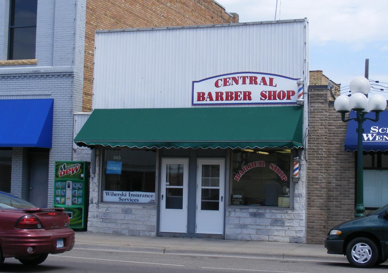 Barber Shop Minneapolis : Central Barber Shop, Little Falls Minnesota