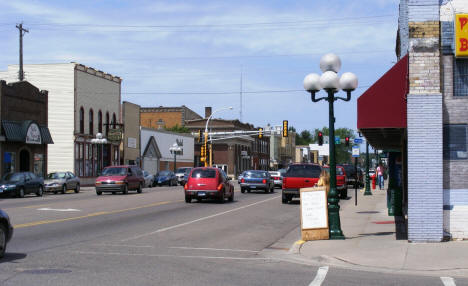 View of Downtown Little Falls Minnesota, 2007