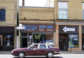 Pap's Sport Shop, Little Falls Minnesota