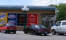 Westside Discount Liquor, Little Falls Minnesota