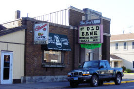 The Old Bank Food and Liquors, Pierz Minnesota