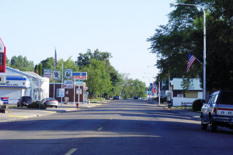 Street view, Pierz Minnesota, 2007