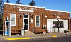 Pierz City Hall, Pierz Minnesota