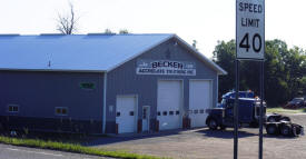 Becker Aggregate Trucking, Pierz Minnesota