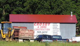 Crosby & Sons Construction, Randall Minnesota