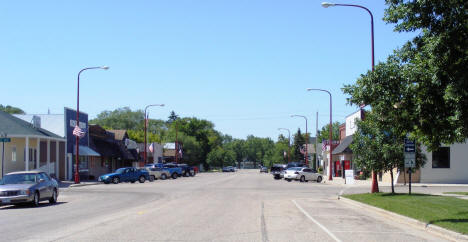 View of Downtown Verndale Minnesota, 2007