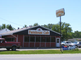 Farmhouse Cafe, Clarissa Minnesota