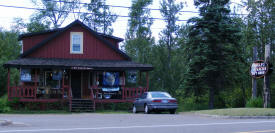 Wolf Tracks Gift Shop, Beaver Bay Minnesota