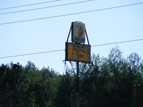 Danceland Sign, Kerrick Minnesota, 2007
